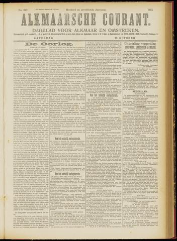 Alkmaarsche Courant 1915-10-23