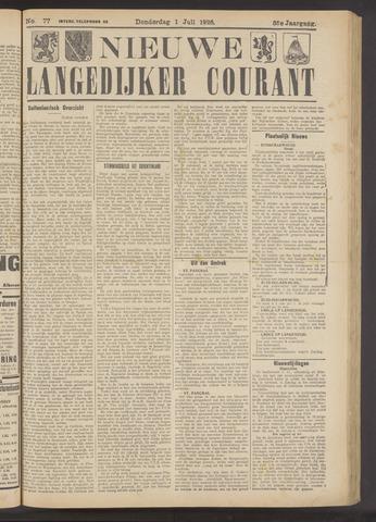 Nieuwe Langedijker Courant 1926-07-01