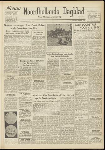 Nieuw Noordhollandsch Dagblad : voor Alkmaar en omgeving 1948-01-29