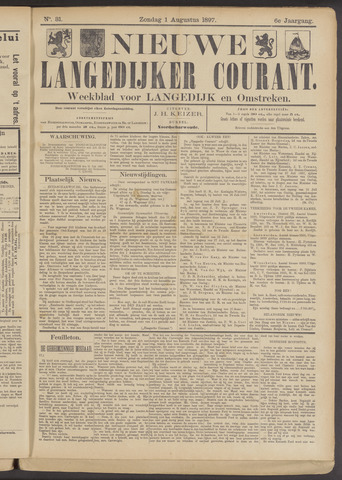 Nieuwe Langedijker Courant 1897-08-01