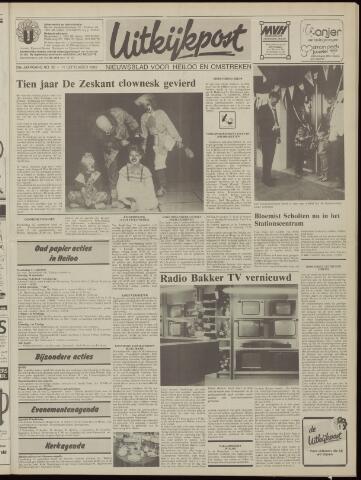 Uitkijkpost : nieuwsblad voor Heiloo e.o. 1985-09-11