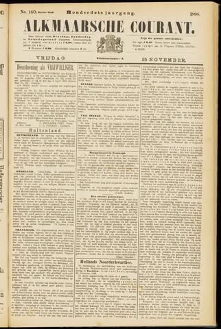 Alkmaarsche Courant 1898-11-25
