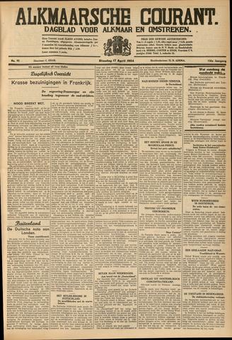 Alkmaarsche Courant 1934-04-17