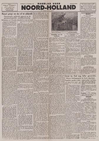Dagblad Noord-Holland, Schager editie 1943-11-10