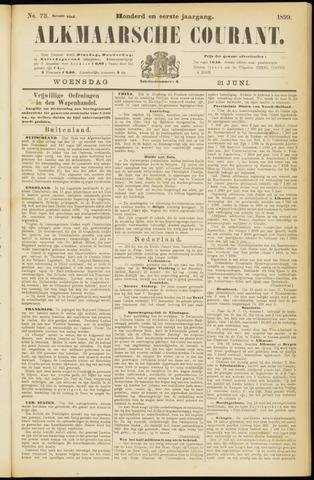 Alkmaarsche Courant 1899-06-21