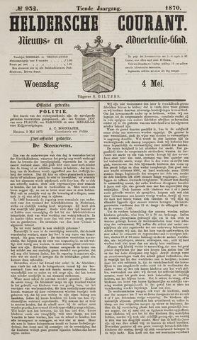 Heldersche Courant 1870-05-04