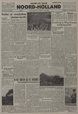 Dagblad Noord-Holland, Schager editie 1942-08-05