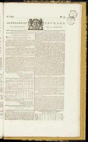 Alkmaarsche Courant 1838-09-24