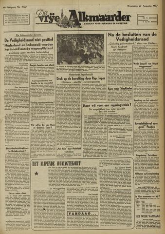 De Vrije Alkmaarder 1947-08-27