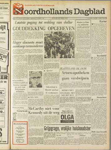 Noordhollands Dagblad : dagblad voor Alkmaar en omgeving 1968-03-15