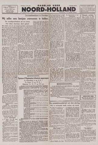 Dagblad Noord-Holland, Schager editie 1943-06-08