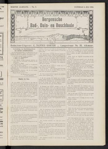 Bergensche bad-, duin- en boschbode 1918-07-06