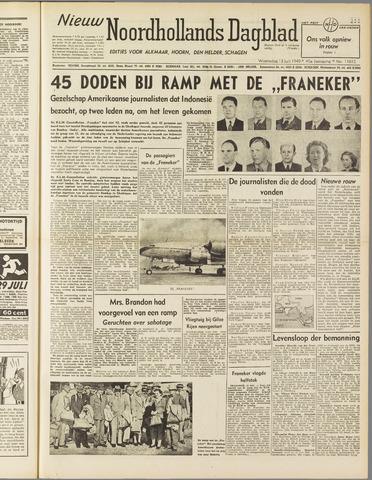 Nieuw Noordhollandsch Dagblad : voor Alkmaar en omgeving 1949-07-13