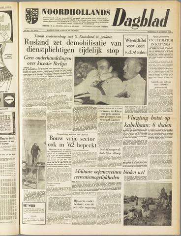 Noordhollands Dagblad : dagblad voor Alkmaar en omgeving 1961-08-30