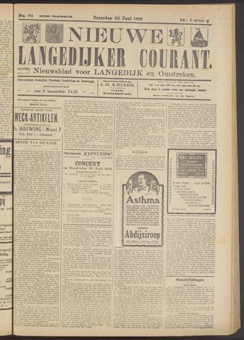 Nieuwe Langedijker Courant 1925-06-20