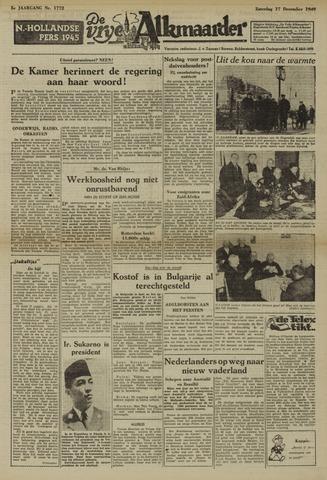 De Vrije Alkmaarder 1949-12-17