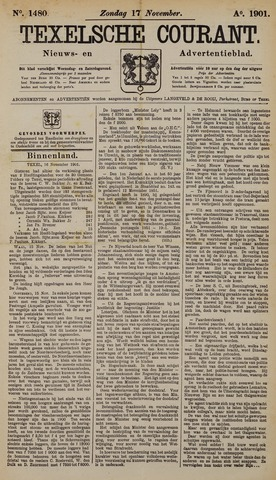 Texelsche Courant 1901-11-17