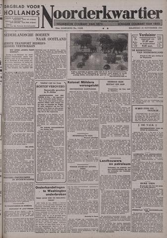 Dagblad voor Hollands Noorderkwartier 1941-11-24