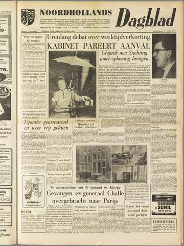 Noordhollands Dagblad : dagblad voor Alkmaar en omgeving 1961-04-27
