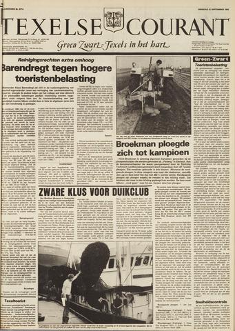 Texelsche Courant 1982-09-21