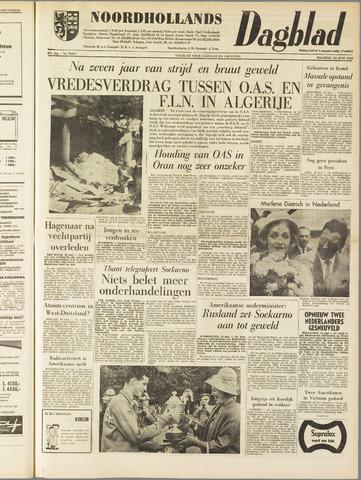 Noordhollands Dagblad : dagblad voor Alkmaar en omgeving 1962-06-18