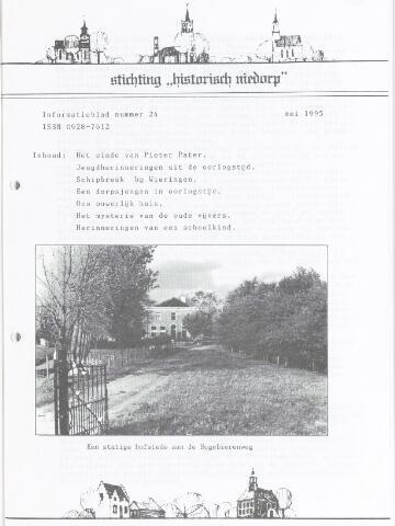 Informatieblad stichting Historisch Niedorp 1995-05-01