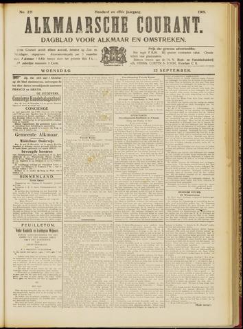 Alkmaarsche Courant 1909-09-22