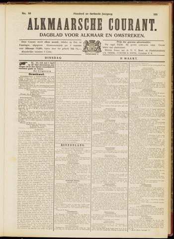 Alkmaarsche Courant 1911-03-21
