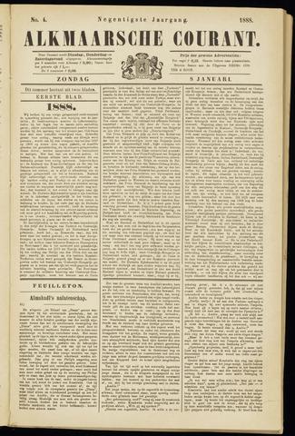 Alkmaarsche Courant 1888-01-08