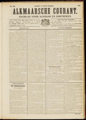 Alkmaarsche Courant 1910-11-28