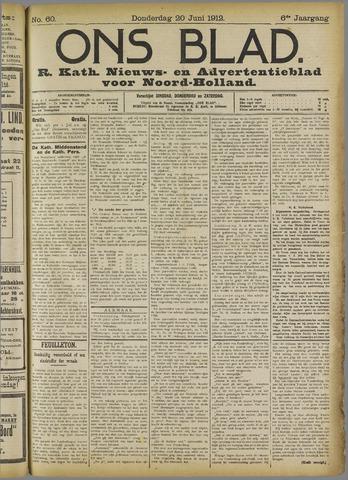 Ons Blad : katholiek nieuwsblad voor N-H 1912-06-20