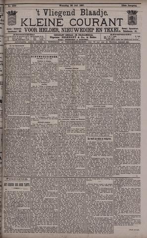 Vliegend blaadje : nieuws- en advertentiebode voor Den Helder 1897-07-28