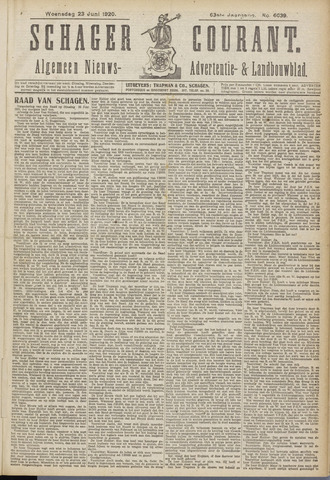 Schager Courant 1920-06-23