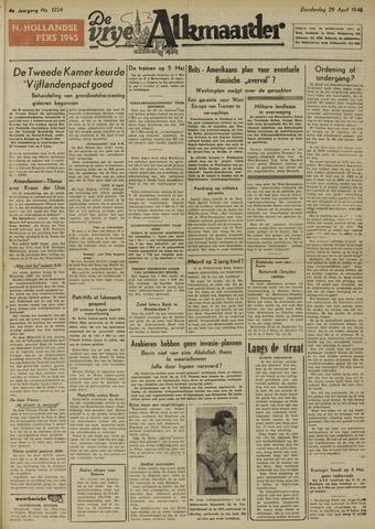 De Vrije Alkmaarder 1948-04-29