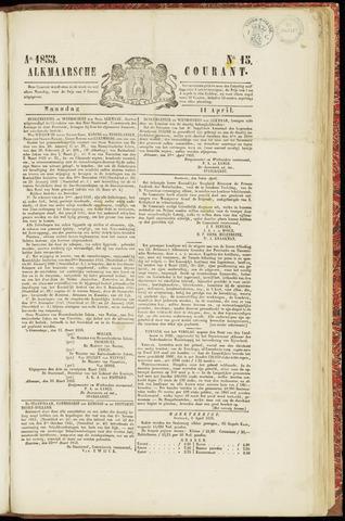 Alkmaarsche Courant 1853-04-11
