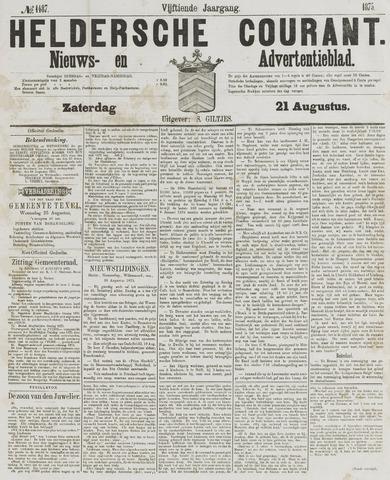 Heldersche Courant 1875-08-21