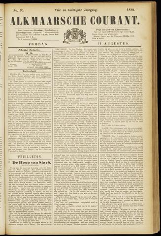 Alkmaarsche Courant 1882-08-11