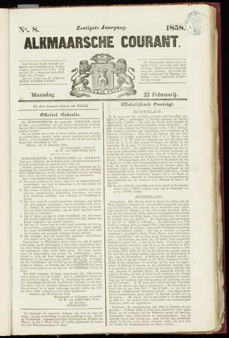 Alkmaarsche Courant 1858-02-22