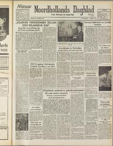 Nieuw Noordhollandsch Dagblad : voor Alkmaar en omgeving 1947-12-15