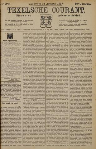 Texelsche Courant 1915-08-12