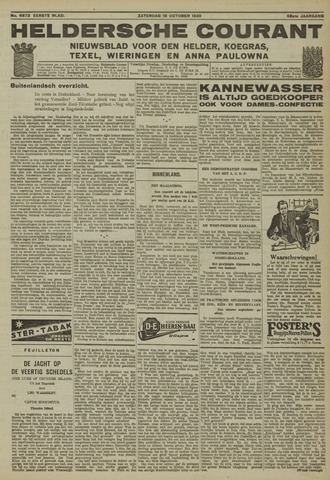 Heldersche Courant 1930-10-18