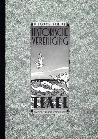 Uitgave Historische Vereniging Texel 2001-12-01