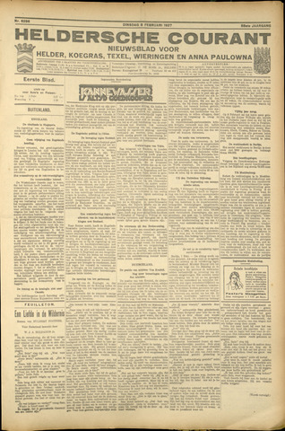Heldersche Courant 1927-02-08