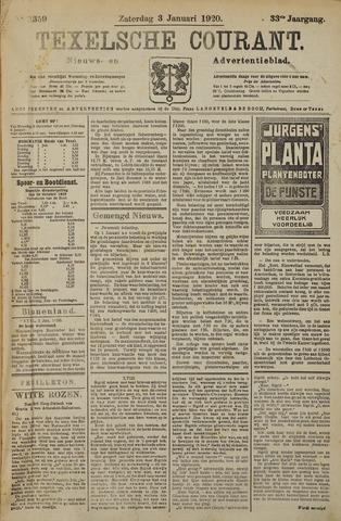Texelsche Courant 1920