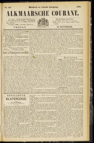 Alkmaarsche Courant 1900-11-23