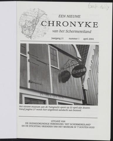 Een Nieuwe Chronyke van het Schermereiland 2004-03-01