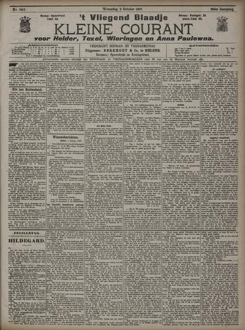 Vliegend blaadje : nieuws- en advertentiebode voor Den Helder 1907-10-02