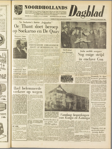 Noordhollands Dagblad : dagblad voor Alkmaar en omgeving 1961-12-20