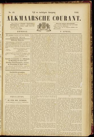 Alkmaarsche Courant 1883-04-08
