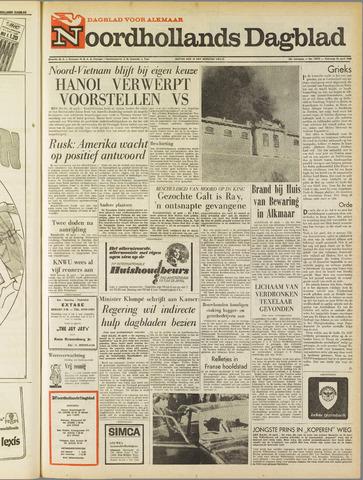 Noordhollands Dagblad : dagblad voor Alkmaar en omgeving 1968-04-20